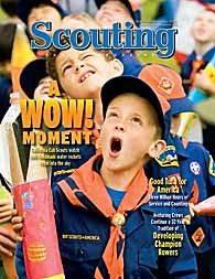 National Scounting Magazine Cover